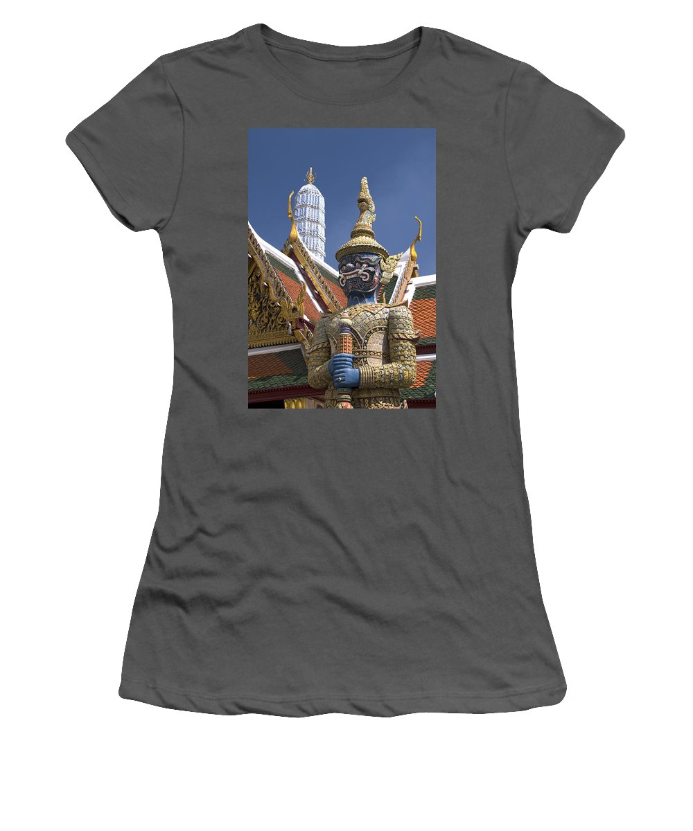 Asia Women's T-Shirt (Athletic Fit) featuring the photograph Demon Guardian by Gloria and Richard Maschmeyer