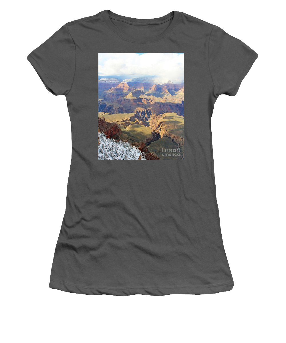 Grand Canyon Women's T-Shirt (Athletic Fit) featuring the photograph Grand Canyon by Jack Schultz