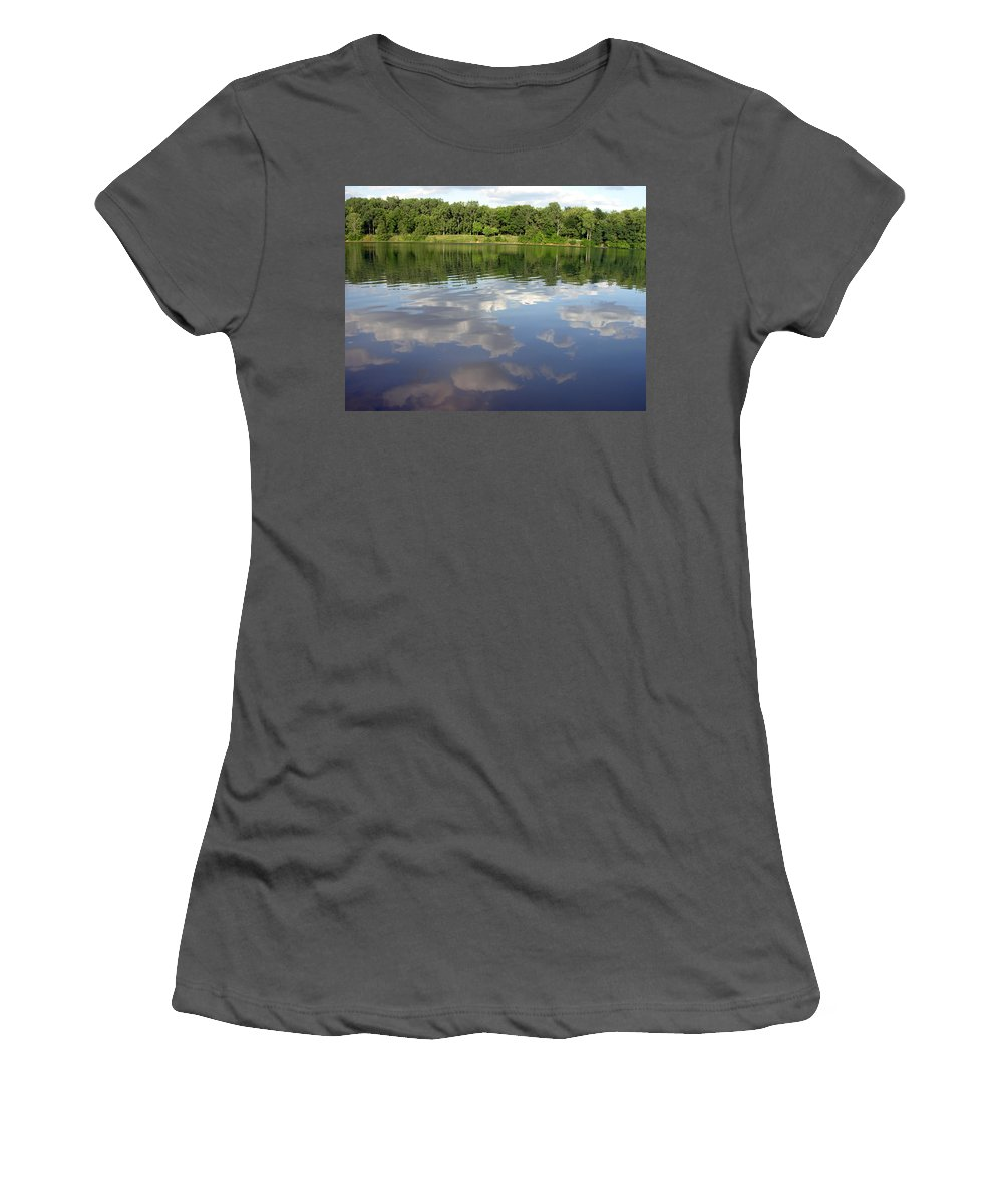 Gerbera Photographs Women's T-Shirt (Athletic Fit) featuring the photograph 1262-1 by Kimberlie Gerner
