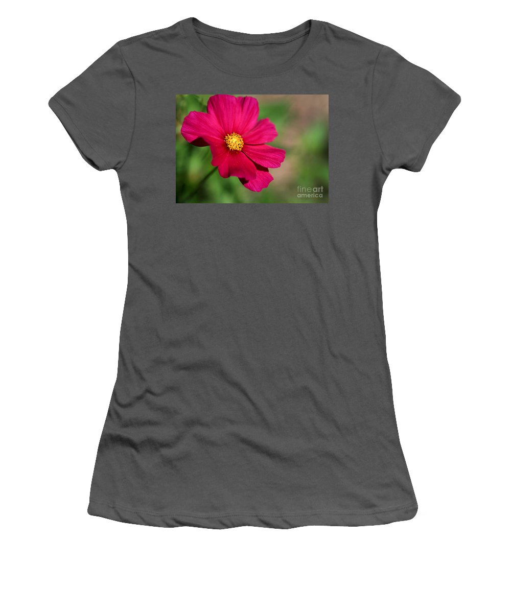 Macro Women's T-Shirt (Athletic Fit) featuring the photograph Cosmopolitan by Sabrina L Ryan
