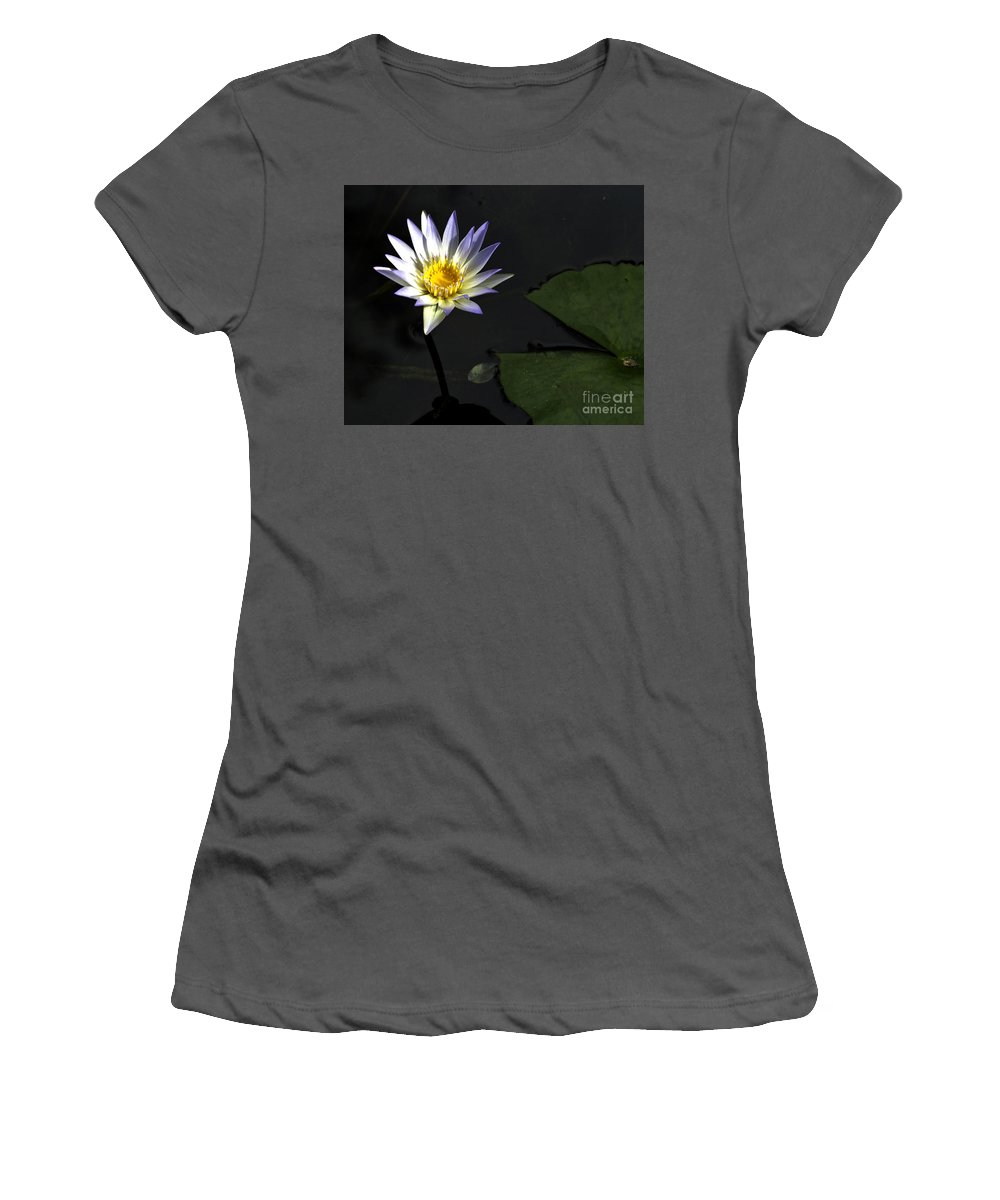 Flowers Women's T-Shirt (Athletic Fit) featuring the photograph Drama Queen by Ken Frischkorn