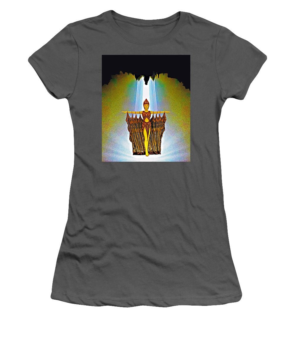 Egyptian Women's T-Shirt (Athletic Fit) featuring the photograph Egyptian Princess by Rich Walter