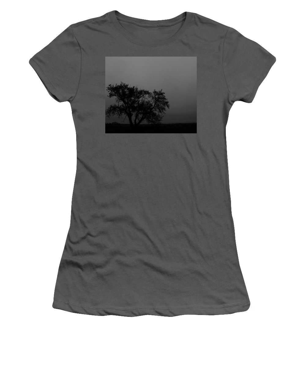 Elm Women's T-Shirt (Athletic Fit) featuring the photograph Elm To The Left by The Artist Project