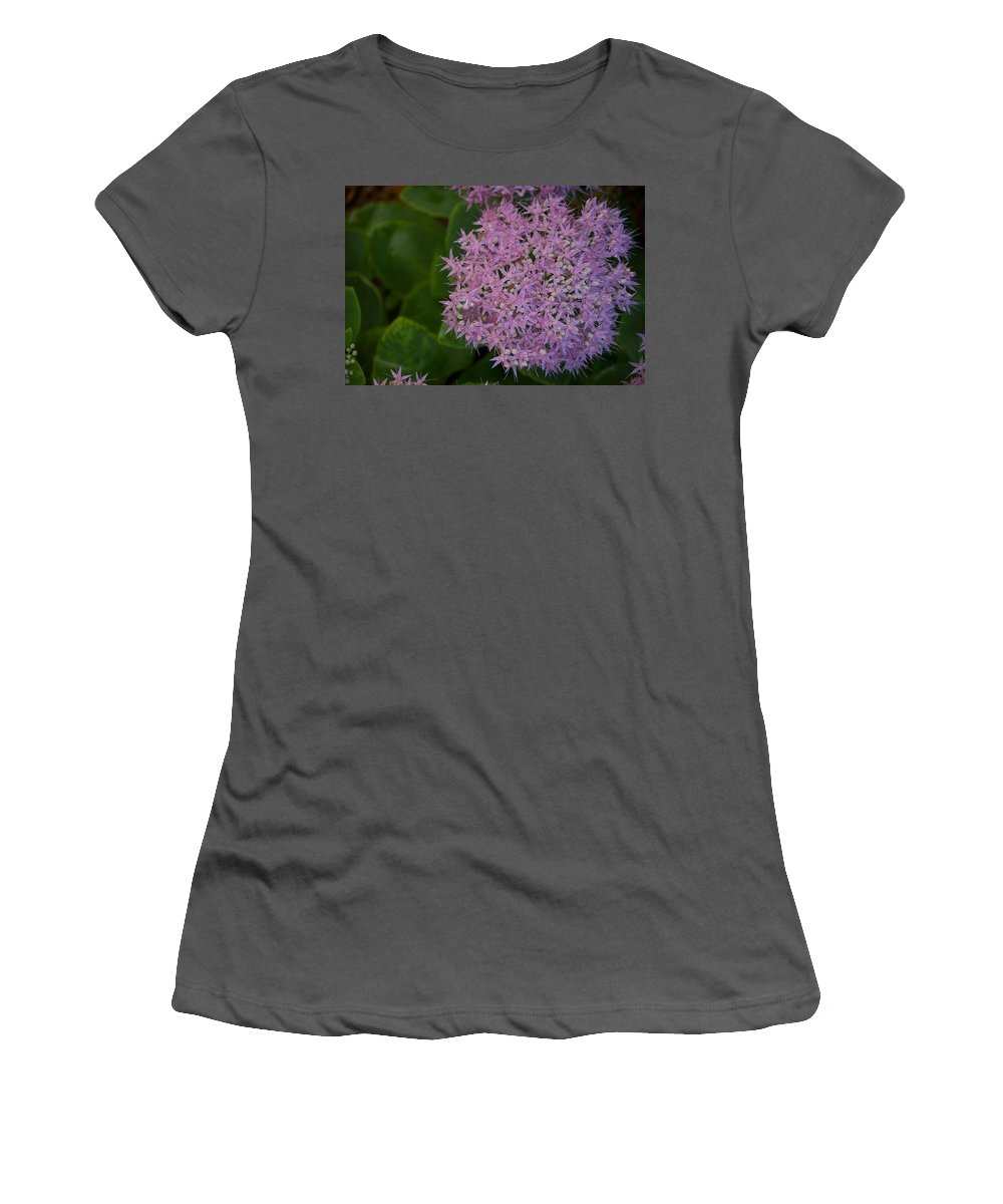 Flower Women's T-Shirt (Athletic Fit) featuring the photograph Inner White by Joseph Yarbrough