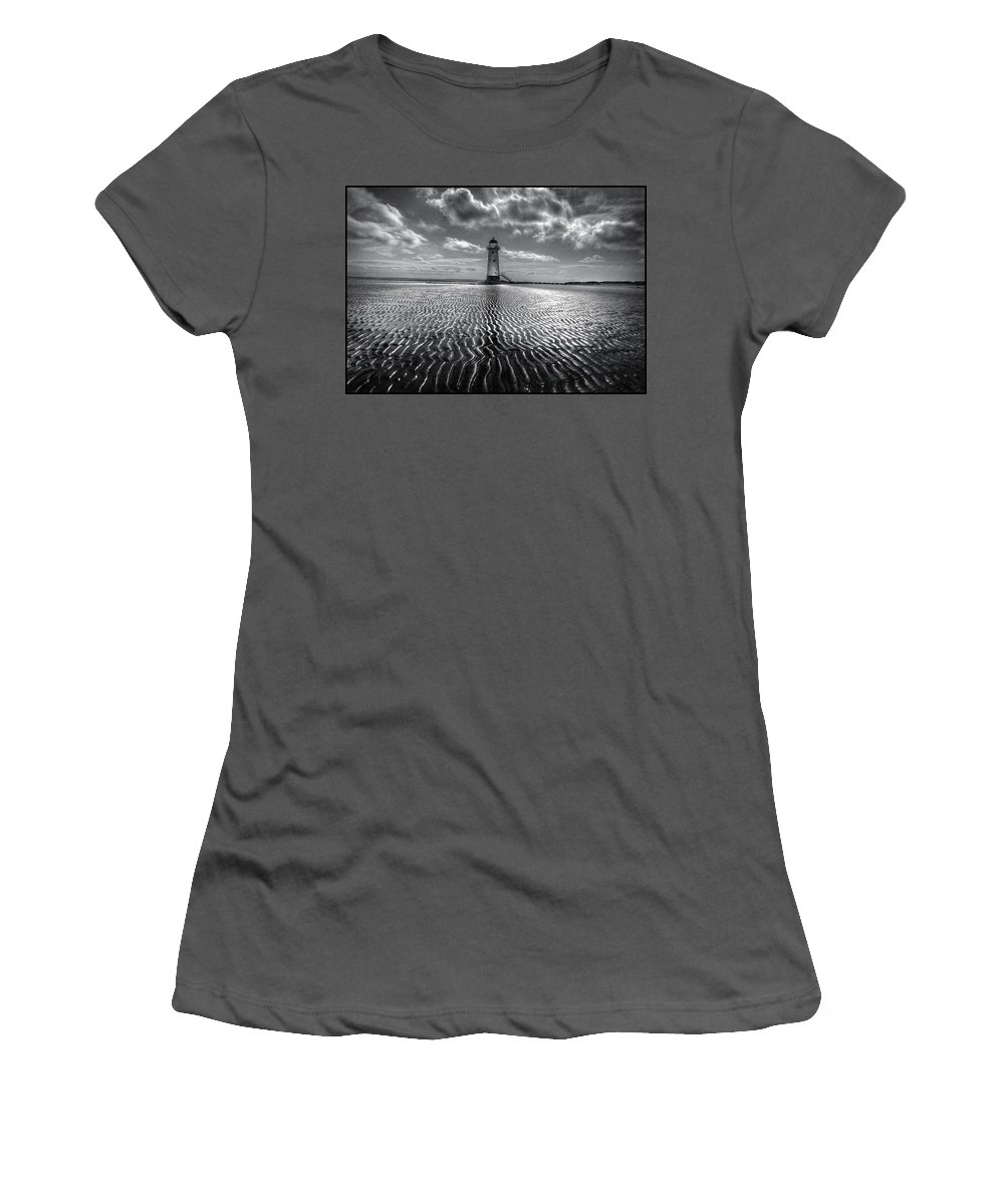 Lighthouse Women's T-Shirt (Athletic Fit) featuring the photograph Lighthouse by Mal Bray