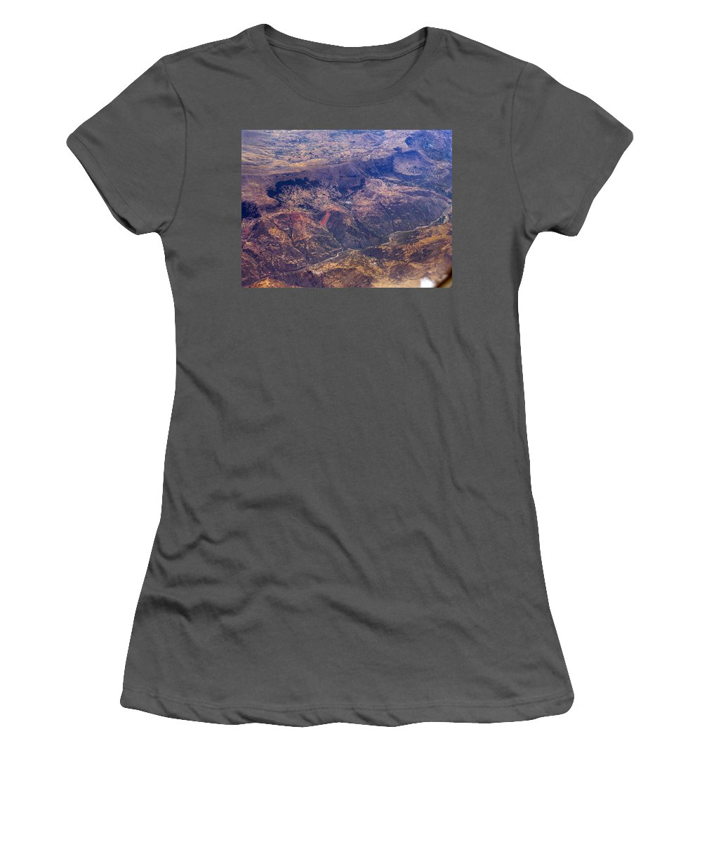 Peru Women's T-Shirt (Athletic Fit) featuring the photograph The High Life by S Paul Sahm