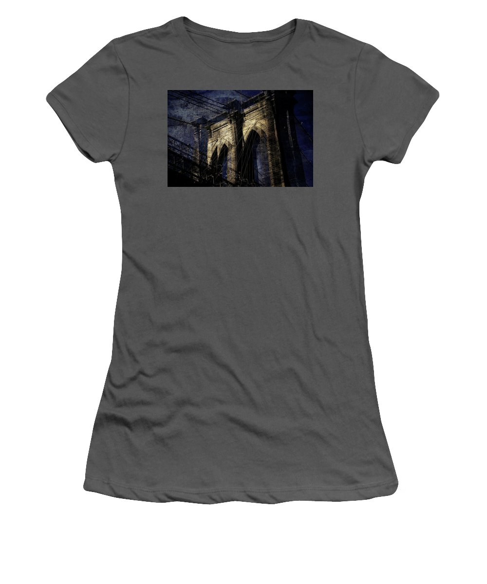 Brooklyn Women's T-Shirt (Athletic Fit) featuring the photograph Brooklyn Shakes by Jeff Watts