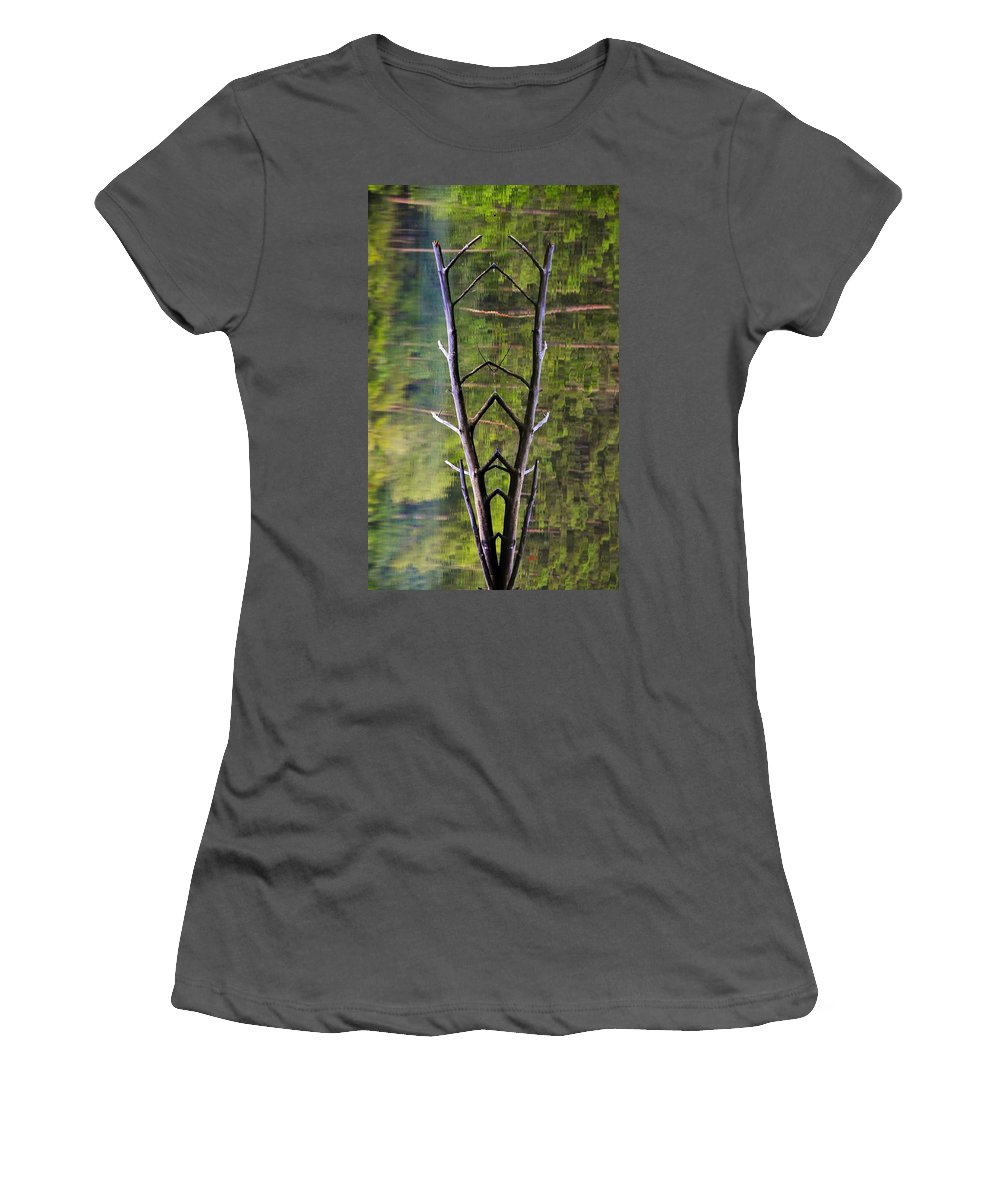 Photography Women's T-Shirt (Athletic Fit) featuring the photograph Jacob's Ladder by Skip Hunt