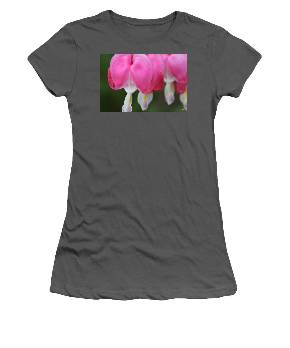 Susie And Her Sisters Women's T-Shirt (Athletic Fit) featuring the photograph Susie And Her Sisters by Ed Smith