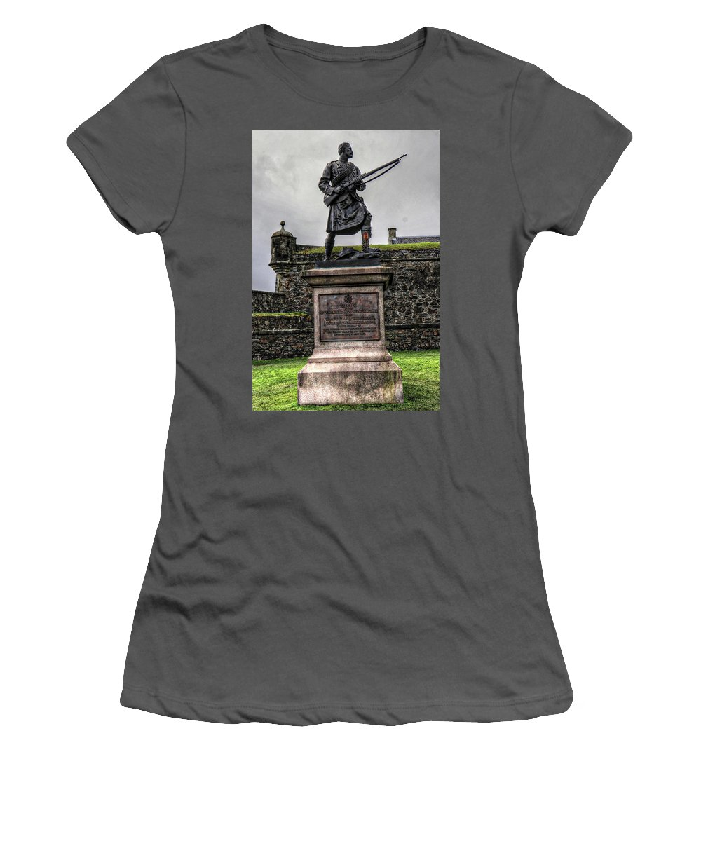 Scotland United Kingdom Uk Women's T-Shirt (Athletic Fit) featuring the photograph Scotland United Kingdom Uk by Paul James Bannerman