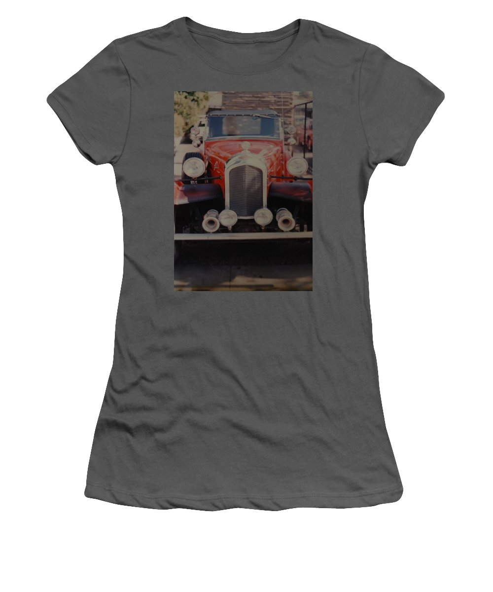 Car Women's T-Shirt (Athletic Fit) featuring the photograph 1932 by Rob Hans