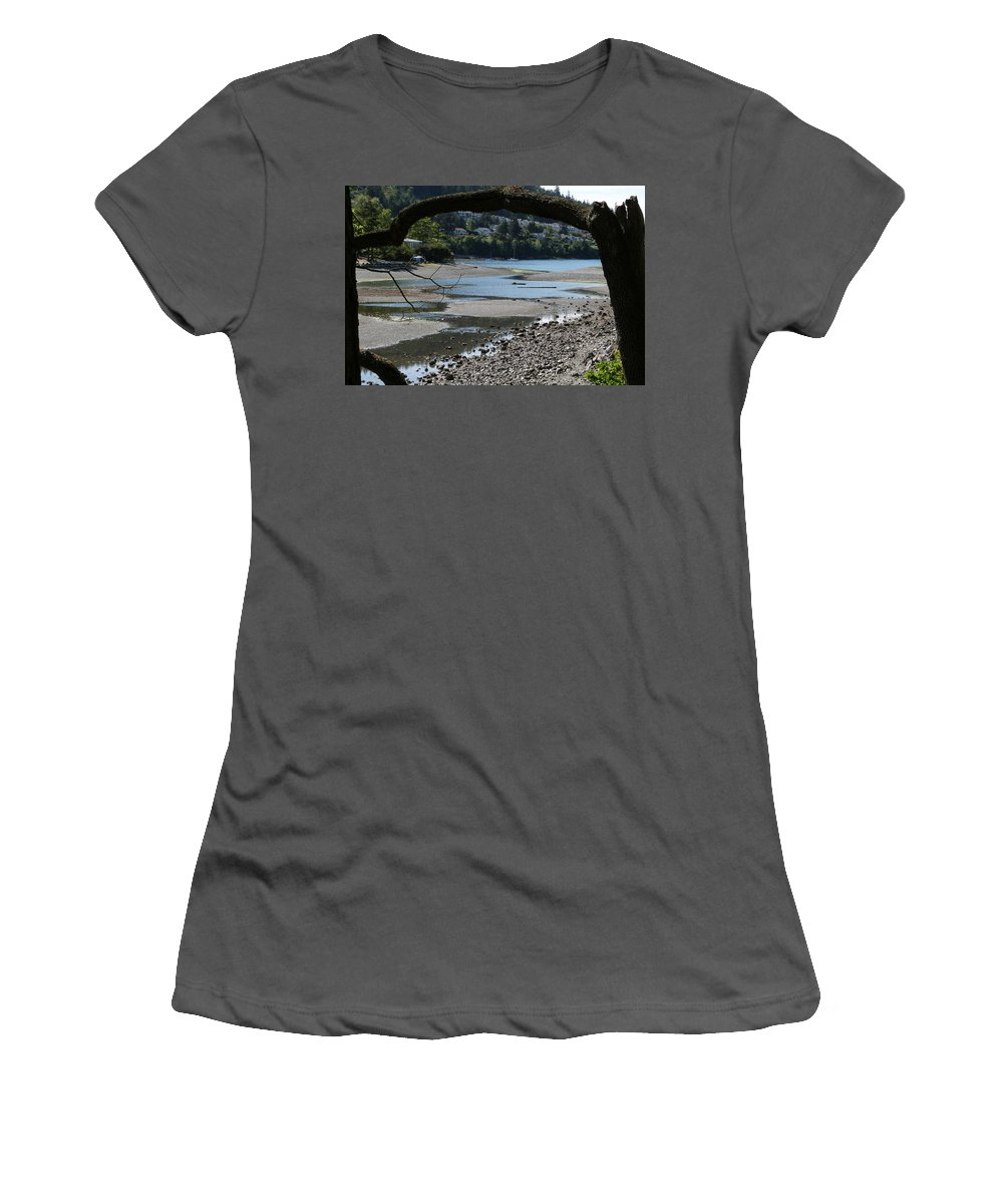 Pipers Lagoon Park Women's T-Shirt (Athletic Fit) featuring the photograph 06-05-16 by Darrell MacIver