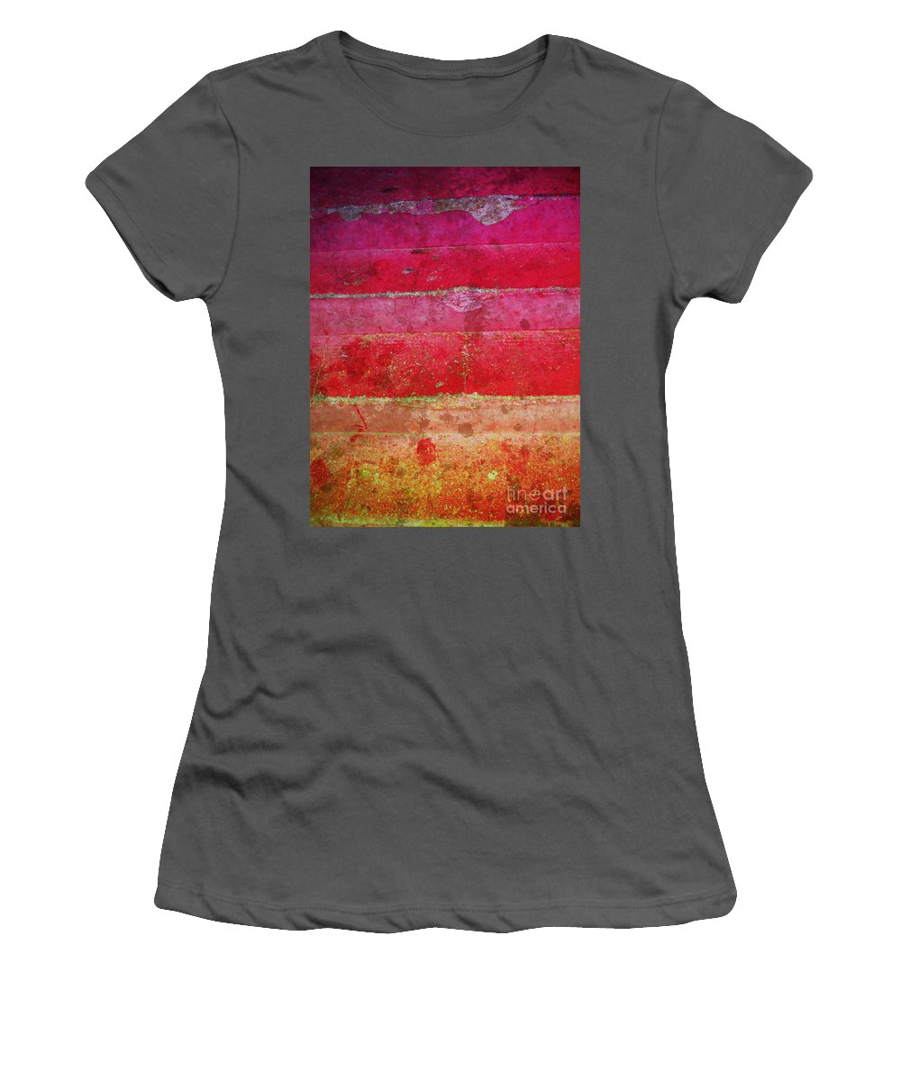 Macro Women's T-Shirt (Athletic Fit) featuring the photograph The Simple Things by Tara Turner