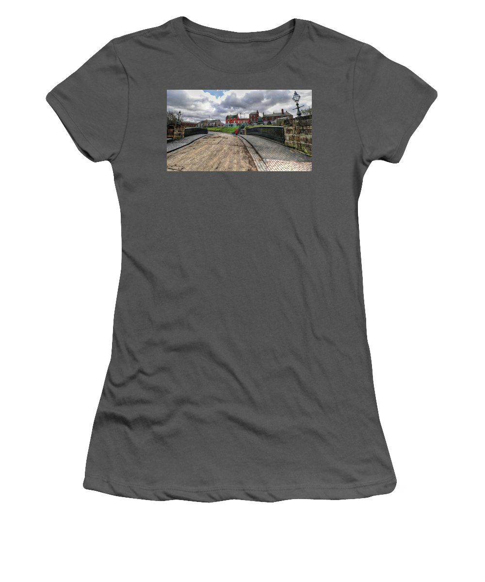 Birmingham England United Kingdom Uk Women's T-Shirt (Athletic Fit) featuring the photograph Birmingham England United Kingdom Uk by Paul James Bannerman