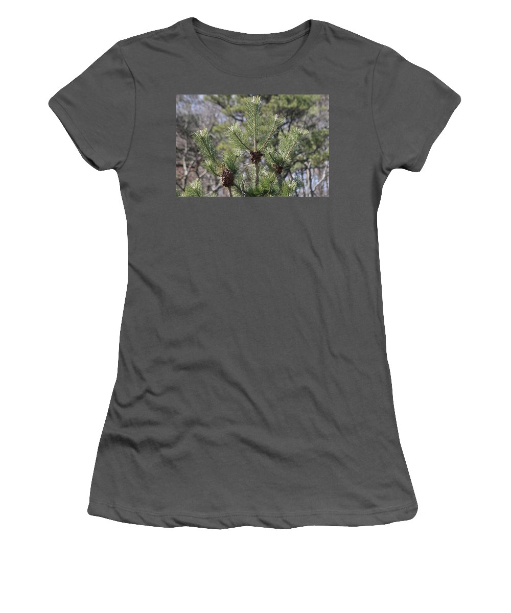 Christmas Women's T-Shirt (Athletic Fit) featuring the photograph 3 by Paul SEQUENCE Ferguson       sequence dot net