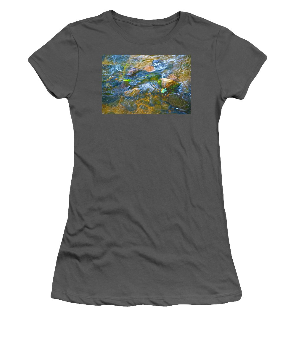 Color Women's T-Shirt (Athletic Fit) featuring the photograph All Those Colors by Robert Pearson