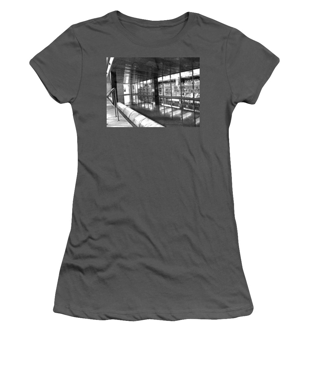 Abstract Women's T-Shirt (Athletic Fit) featuring the photograph Alternate Reality 11 by Lenore Senior