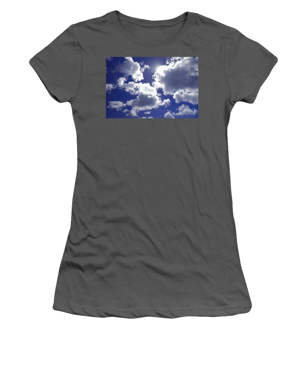 Afternoon Women's T-Shirt (Athletic Fit) featuring the photograph An Upward View by Bill Brennan - Printscapes