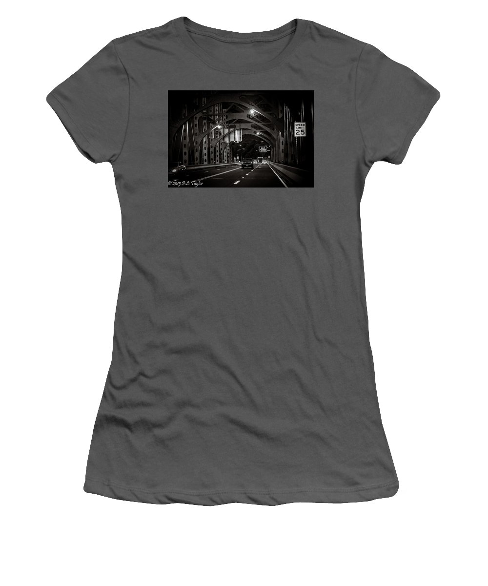 Hunt Women's T-Shirt (Athletic Fit) featuring the photograph Architectural 25 by Pamela Taylor