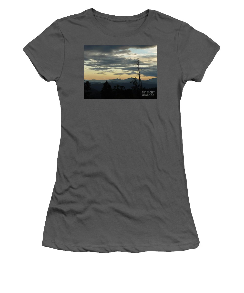 Atmospheric Women's T-Shirt (Athletic Fit) featuring the photograph Atmospheric Perspective by Peter Piatt