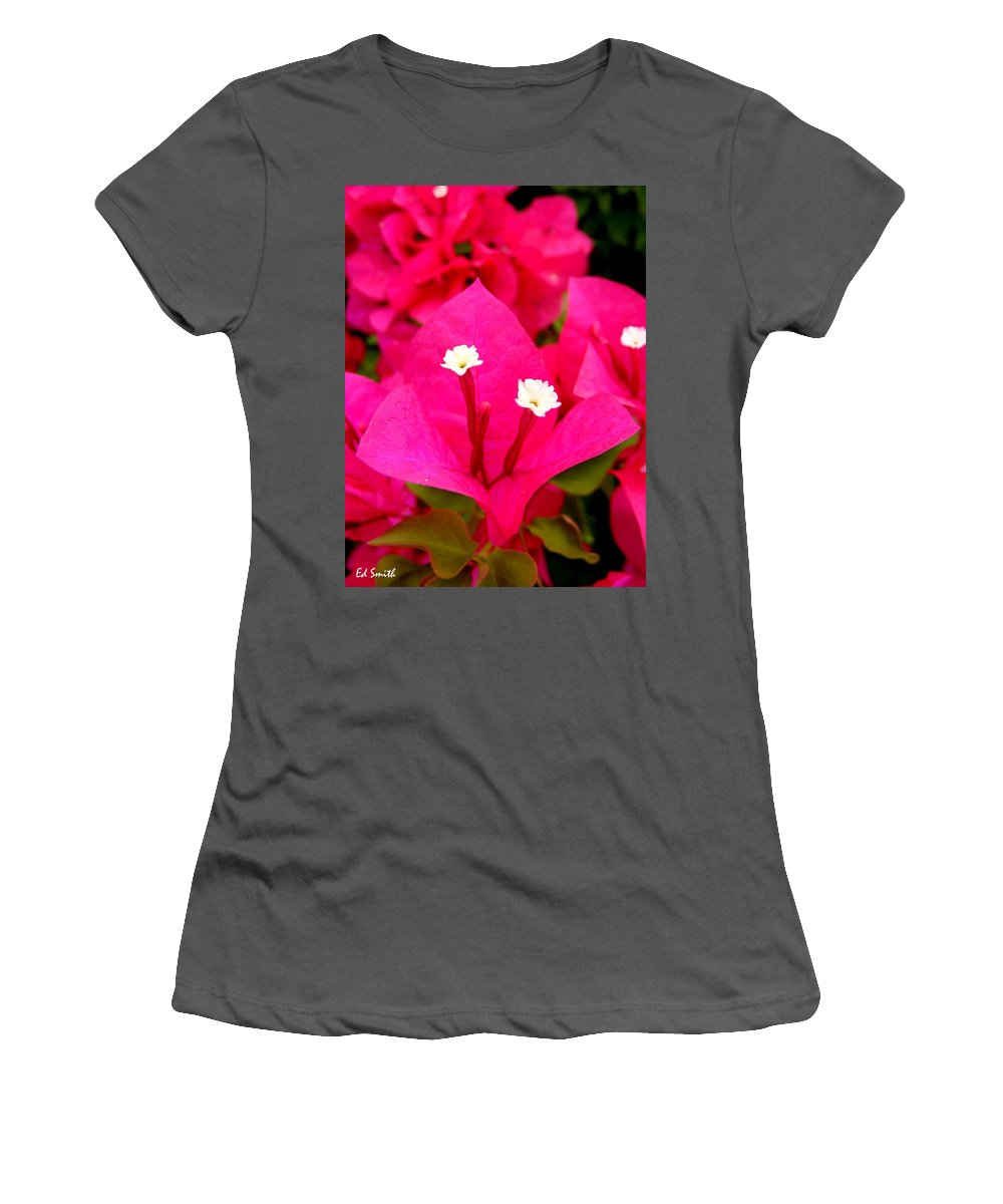 Baby Sisters Women's T-Shirt (Athletic Fit) featuring the photograph Baby Sisters by Ed Smith