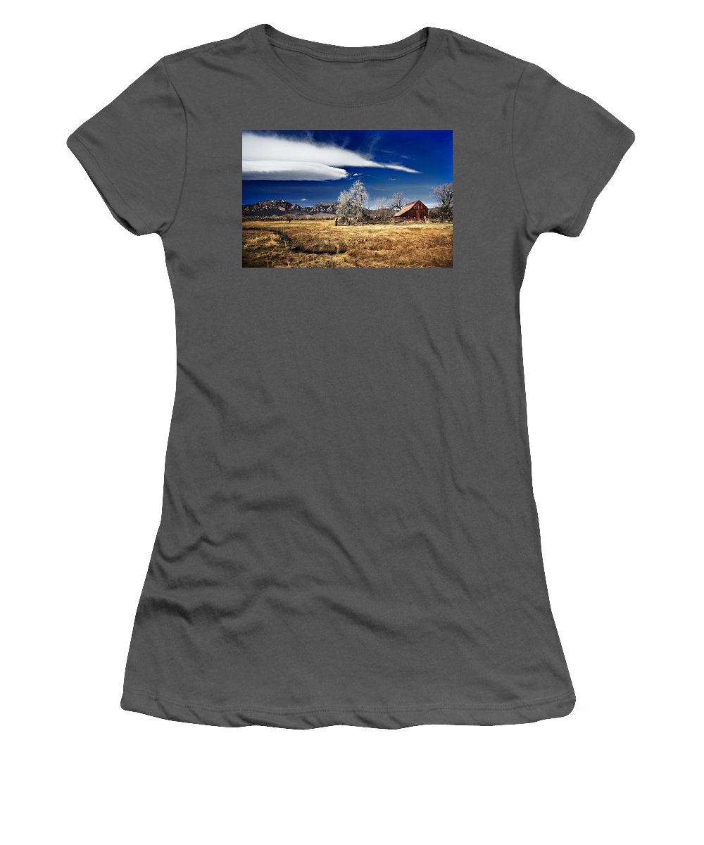 Colorado Women's T-Shirt (Athletic Fit) featuring the photograph Beautiful Colorado by Marilyn Hunt