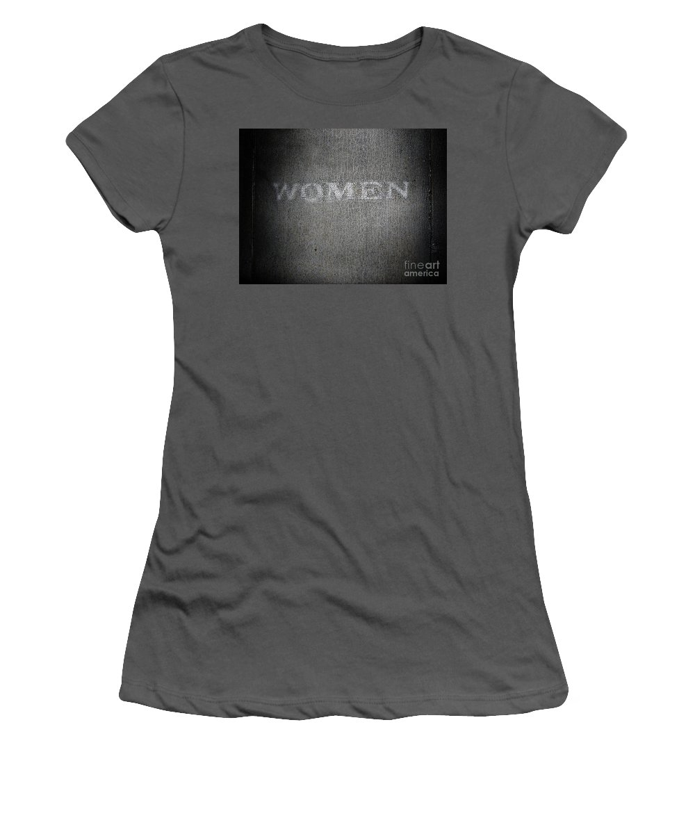 Dipasquale Women's T-Shirt (Athletic Fit) featuring the photograph Brave One by Dana DiPasquale