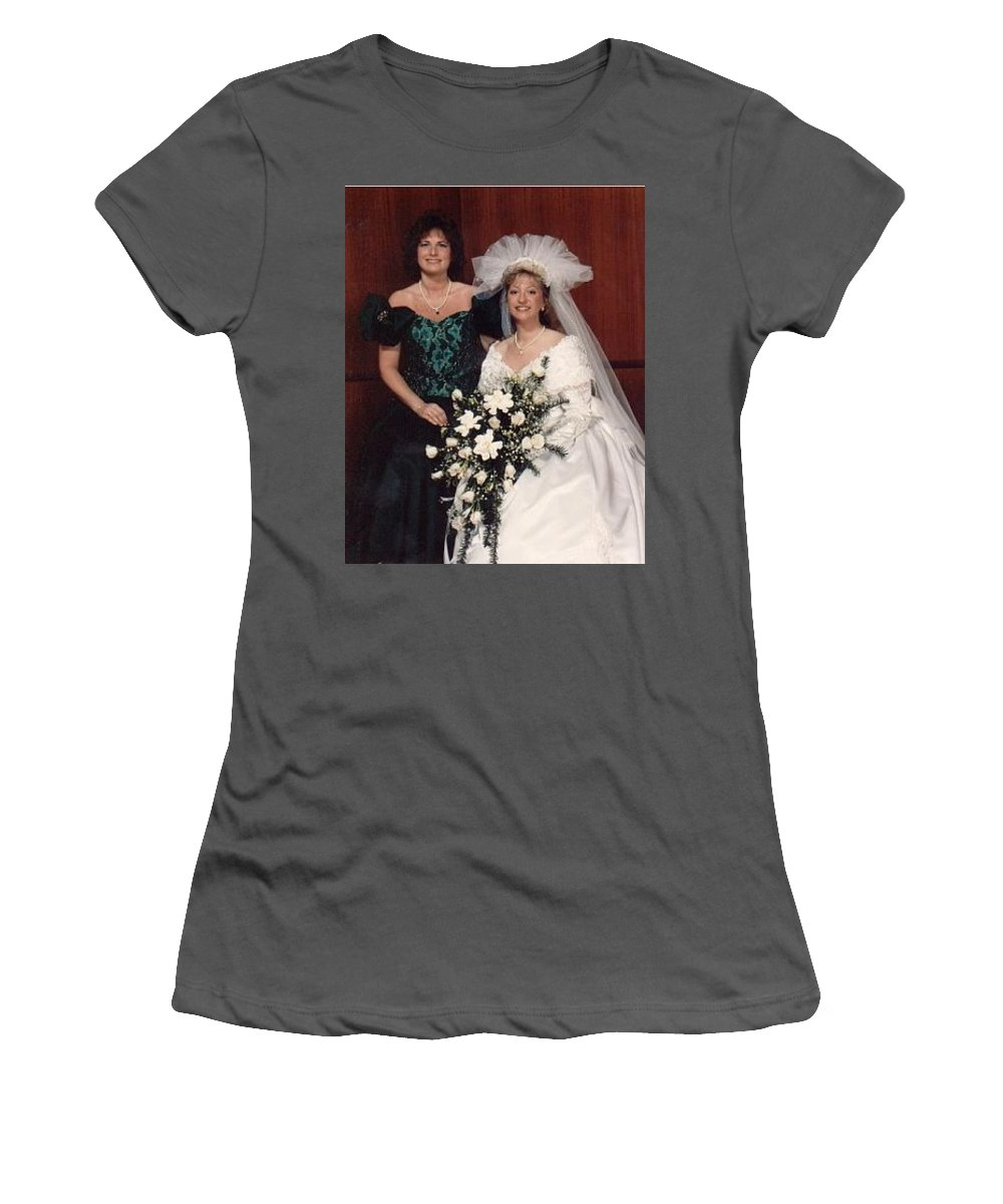 Bridal Women's T-Shirt (Athletic Fit) featuring the photograph Bride And Honor by John Graziani