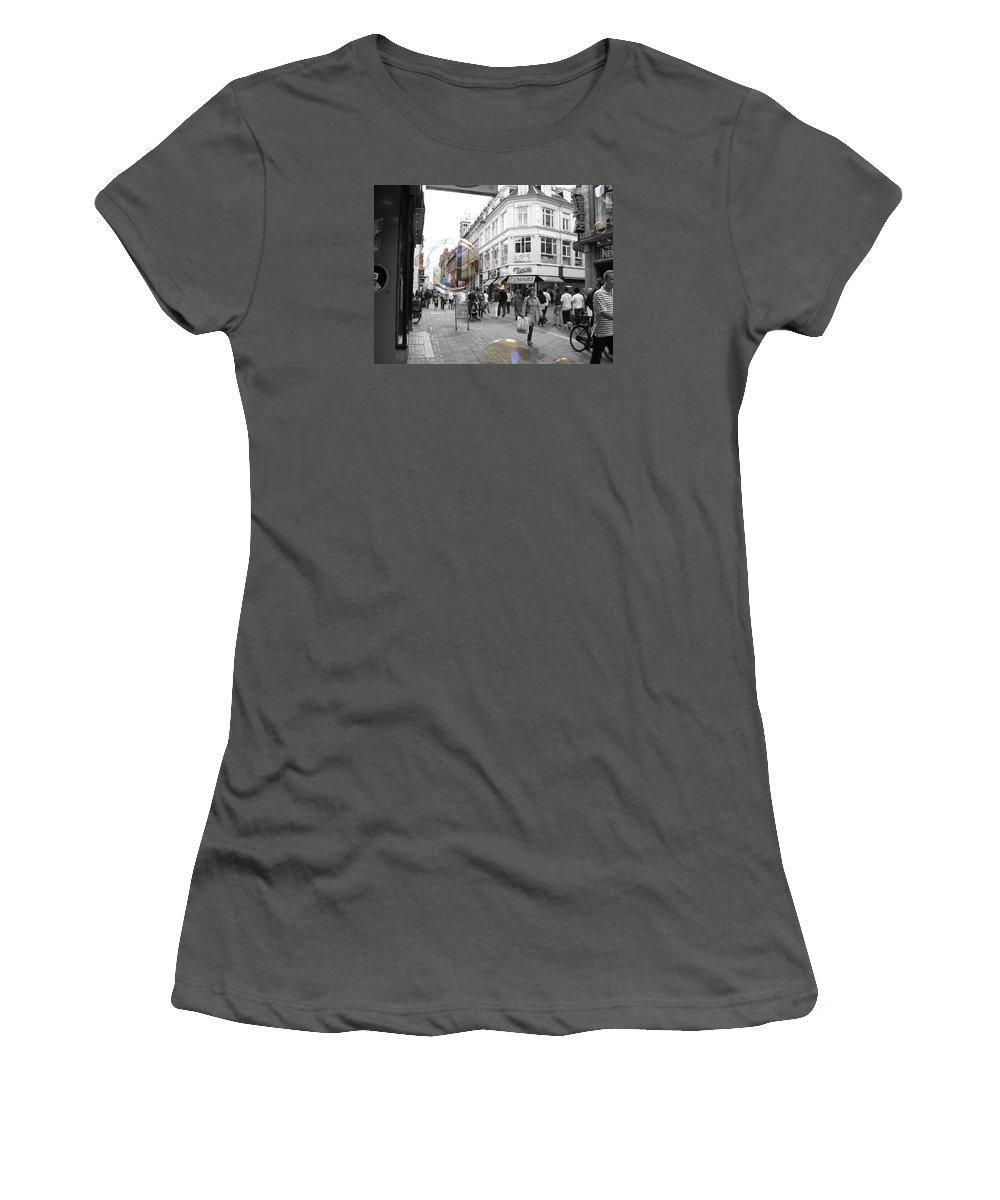 Photography Women's T-Shirt (Athletic Fit) featuring the photograph Bublbes. Copenhagen by Cristina Rettegi