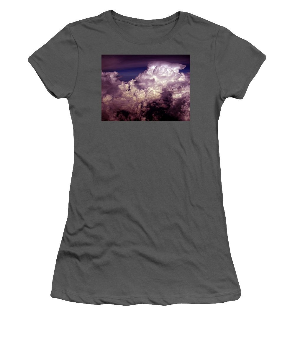 Aviation Art Women's T-Shirt (Athletic Fit) featuring the photograph Cb1.45 by Strato ThreeSIXTYFive