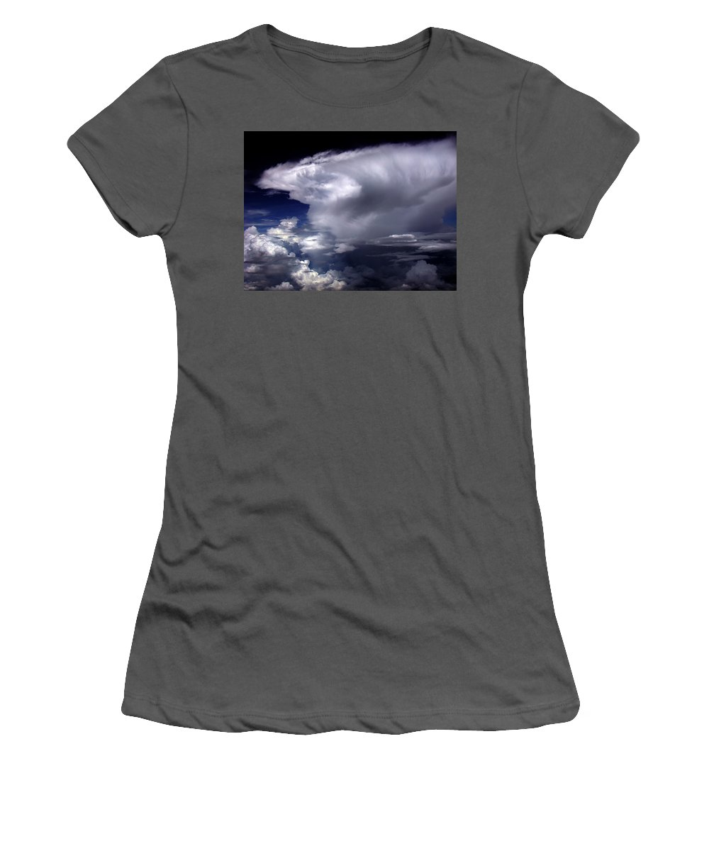 Aviation Art Women's T-Shirt (Athletic Fit) featuring the photograph Cb20.17 by Strato ThreeSIXTYFive