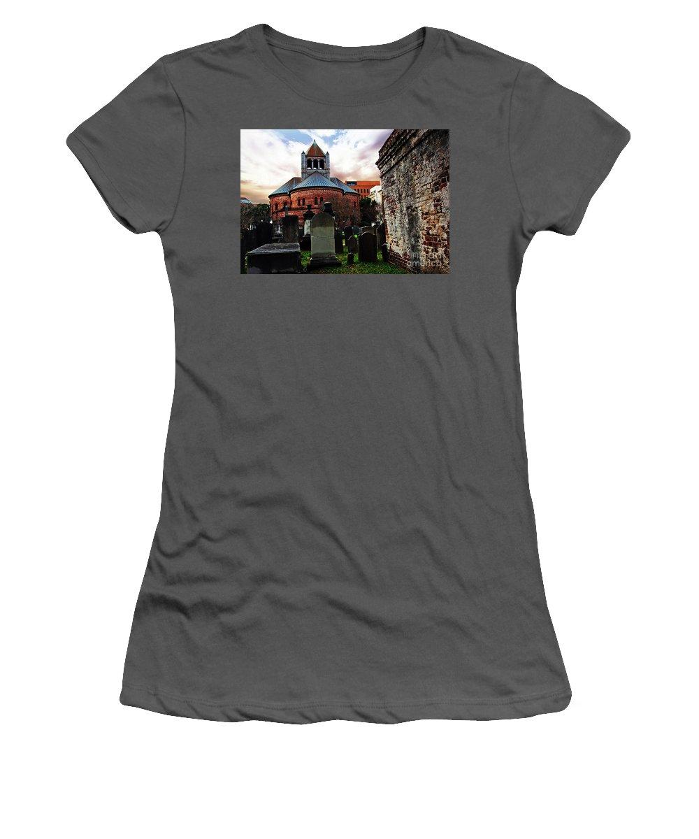Circular Church Women's T-Shirt (Athletic Fit) featuring the photograph Circular Church by Michael A Byerley