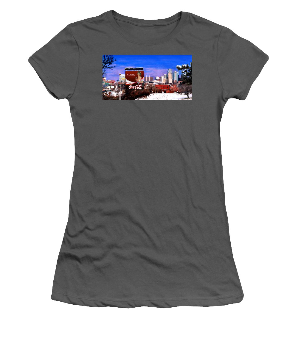 Landscape Women's T-Shirt (Athletic Fit) featuring the photograph Classic by Steve Karol