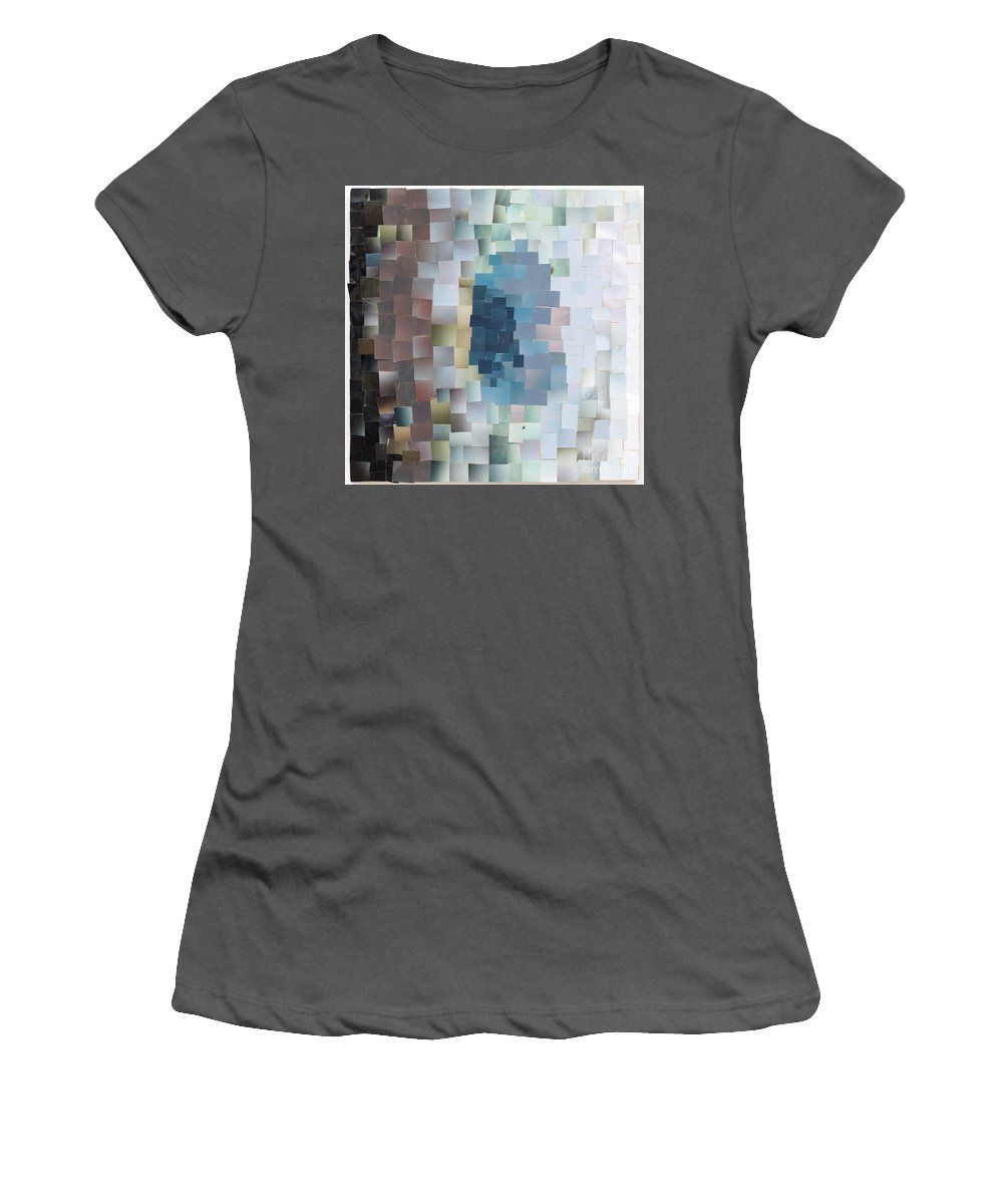 Photos Women's T-Shirt (Athletic Fit) featuring the mixed media Cockroach by Jaime Becker