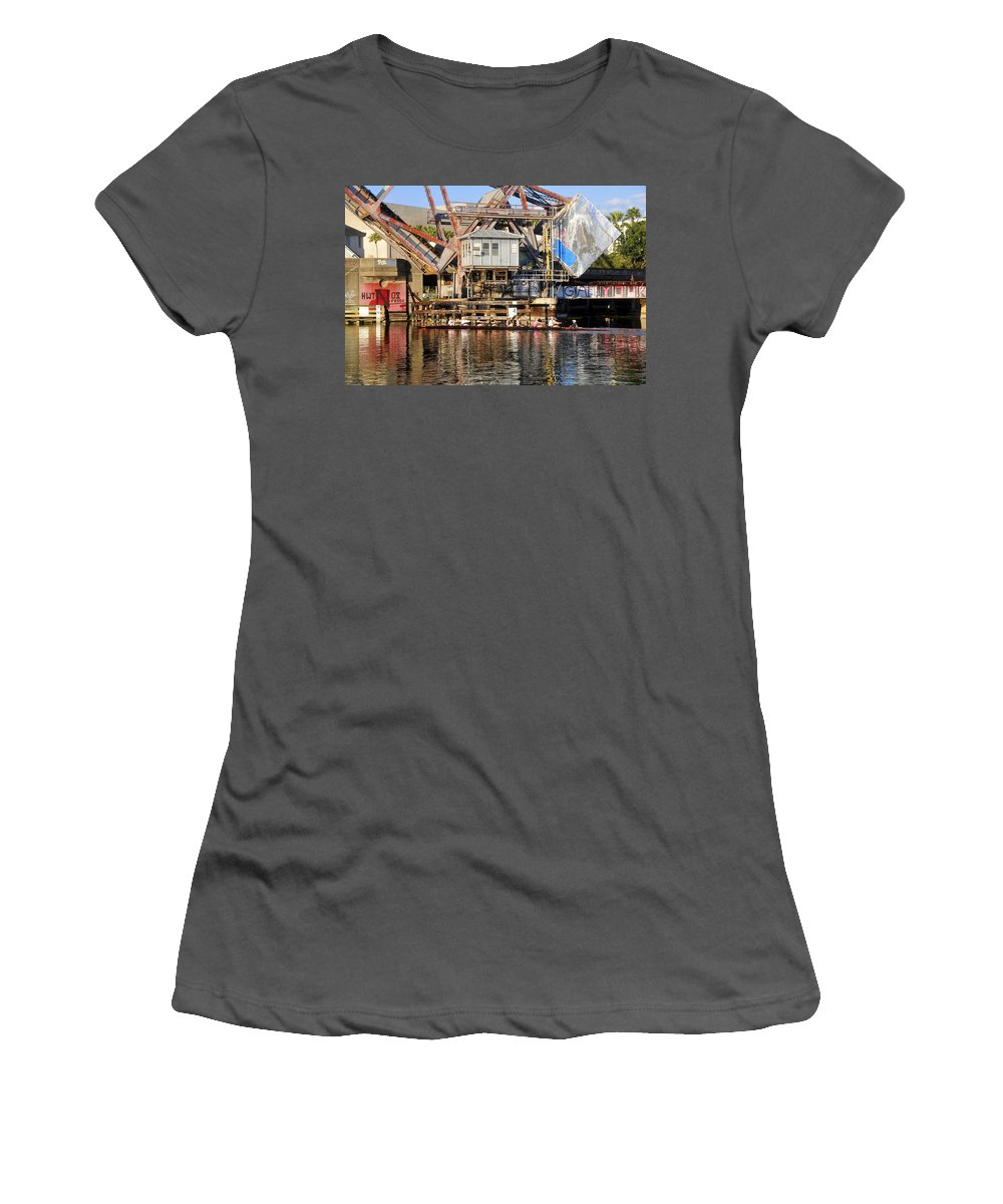 Sculling Women's T-Shirt (Athletic Fit) featuring the photograph Complicated by David Lee Thompson