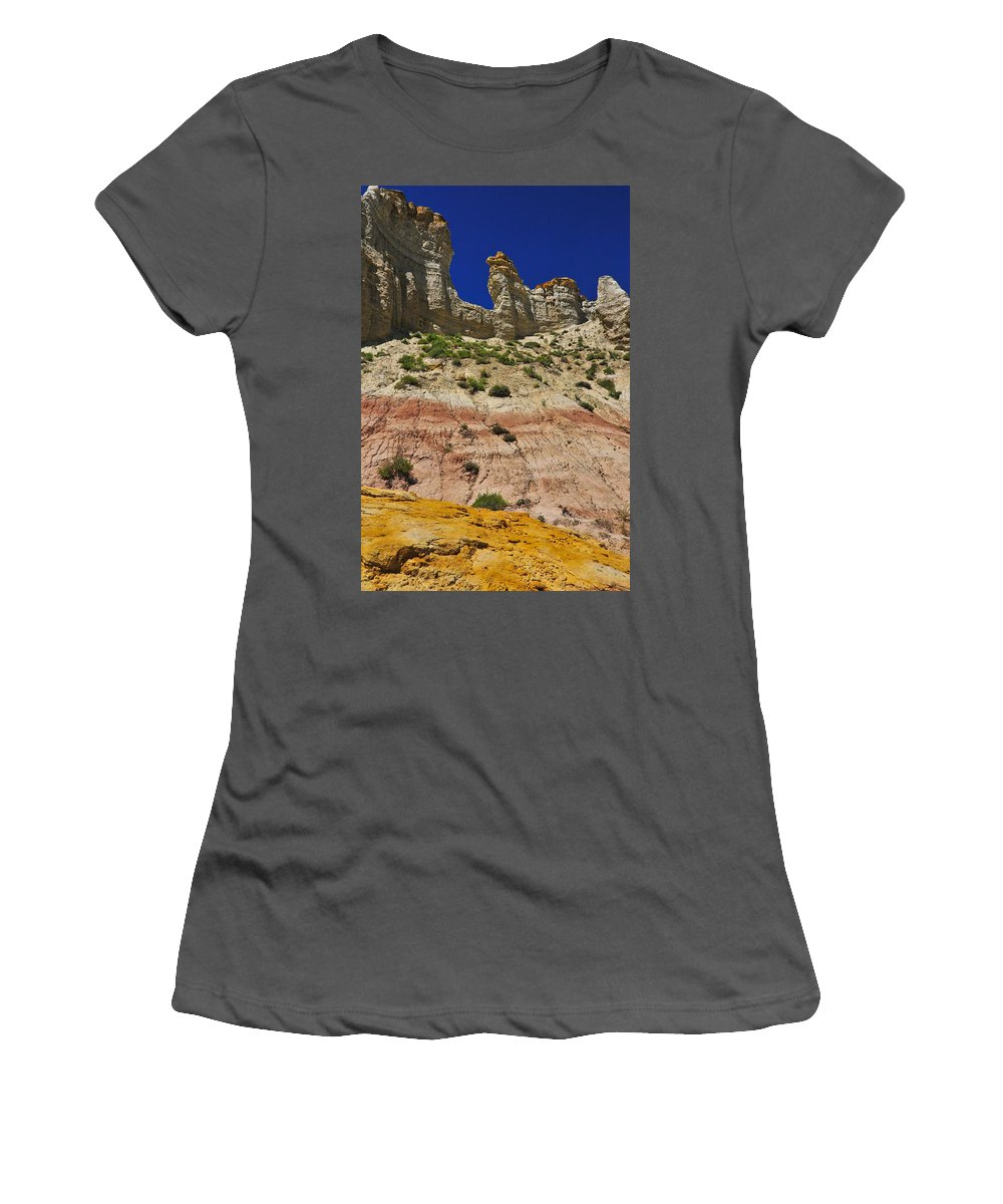 Coppertop Women's T-Shirt (Athletic Fit) featuring the photograph Coppertop by Skip Hunt
