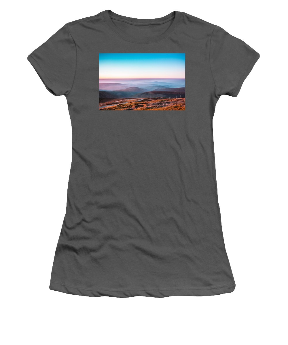 Nature Women's T-Shirt (Athletic Fit) featuring the photograph Dream by Happy Home Artistry