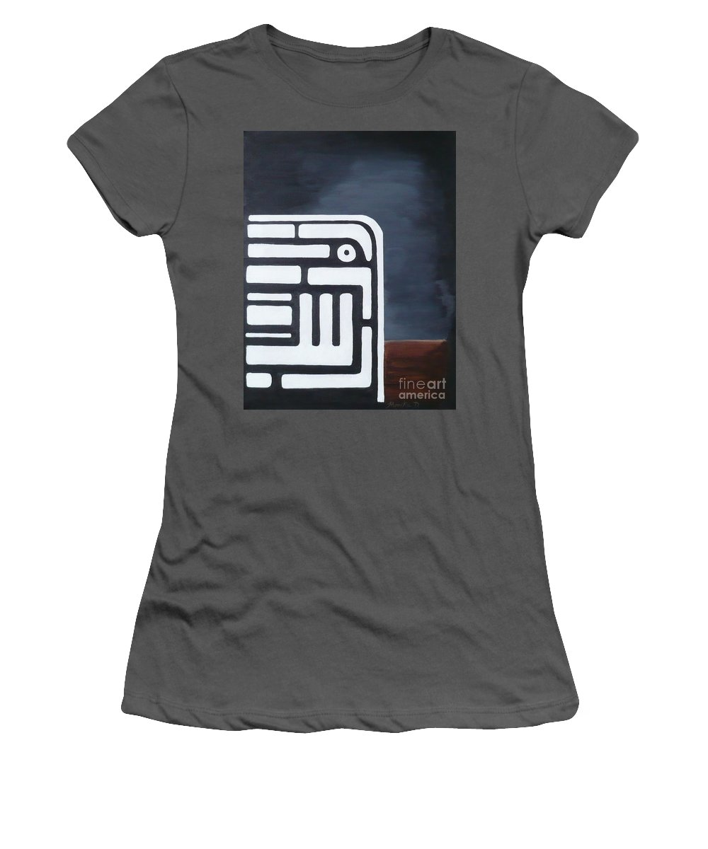Dream Women's T-Shirt (Athletic Fit) featuring the painting Dream by Monika Shepherdson