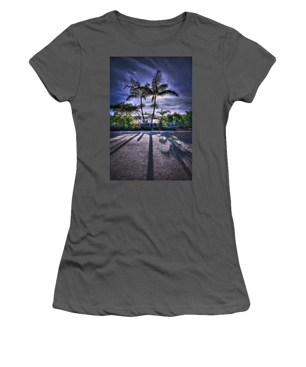 Boca Grande Women's T-Shirt (Athletic Fit) featuring the photograph Dreamscapes by Evelina Kremsdorf