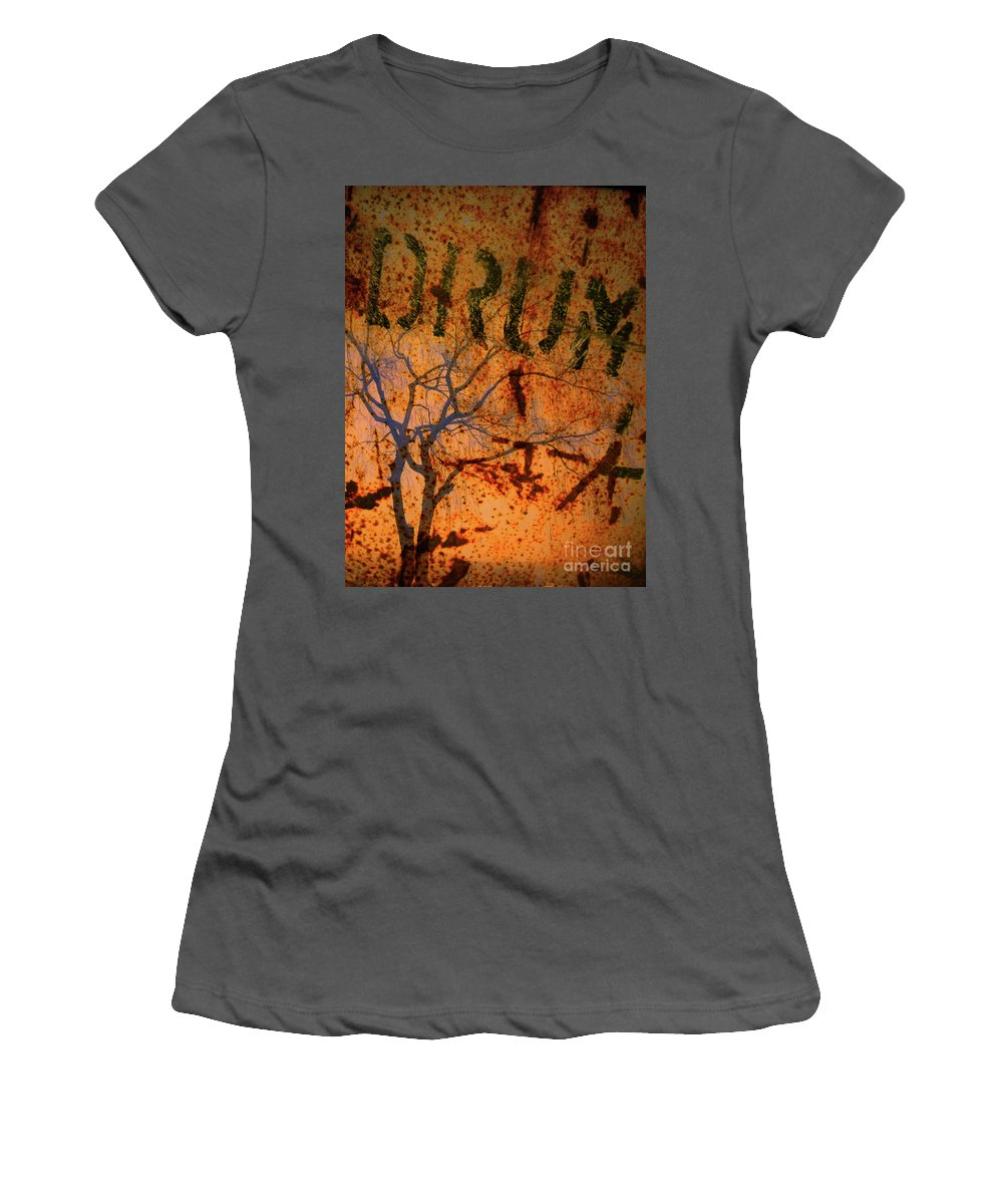 Branch Women's T-Shirt (Athletic Fit) featuring the photograph Drum by Tara Turner