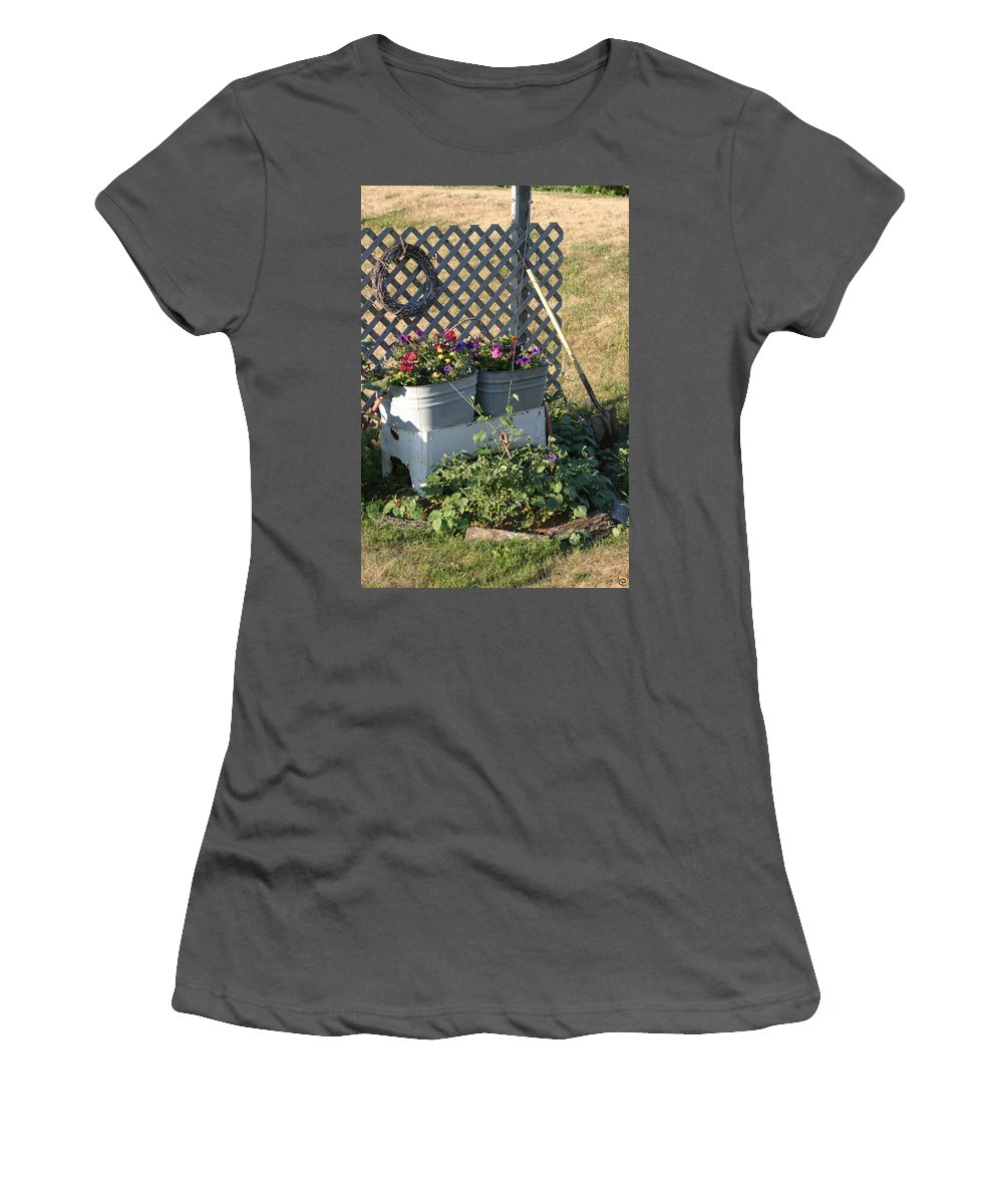 Summer Women's T-Shirt (Athletic Fit) featuring the photograph Early Summer by Bjorn Sjogren