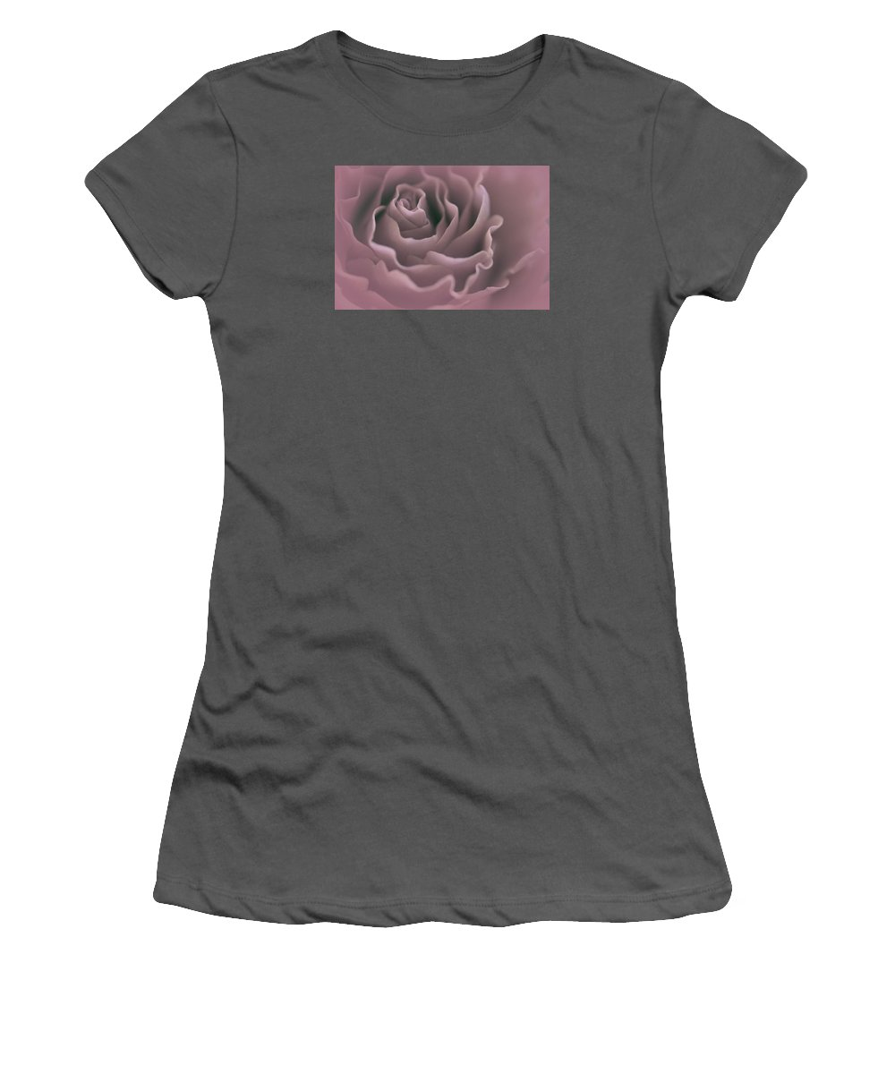 Women's T-Shirt (Athletic Fit) featuring the photograph Exalted by The Art Of Marilyn Ridoutt-Greene