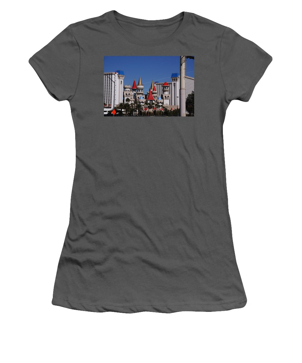 Excalibur Women's T-Shirt (Athletic Fit) featuring the photograph Excalibur by Susanne Van Hulst