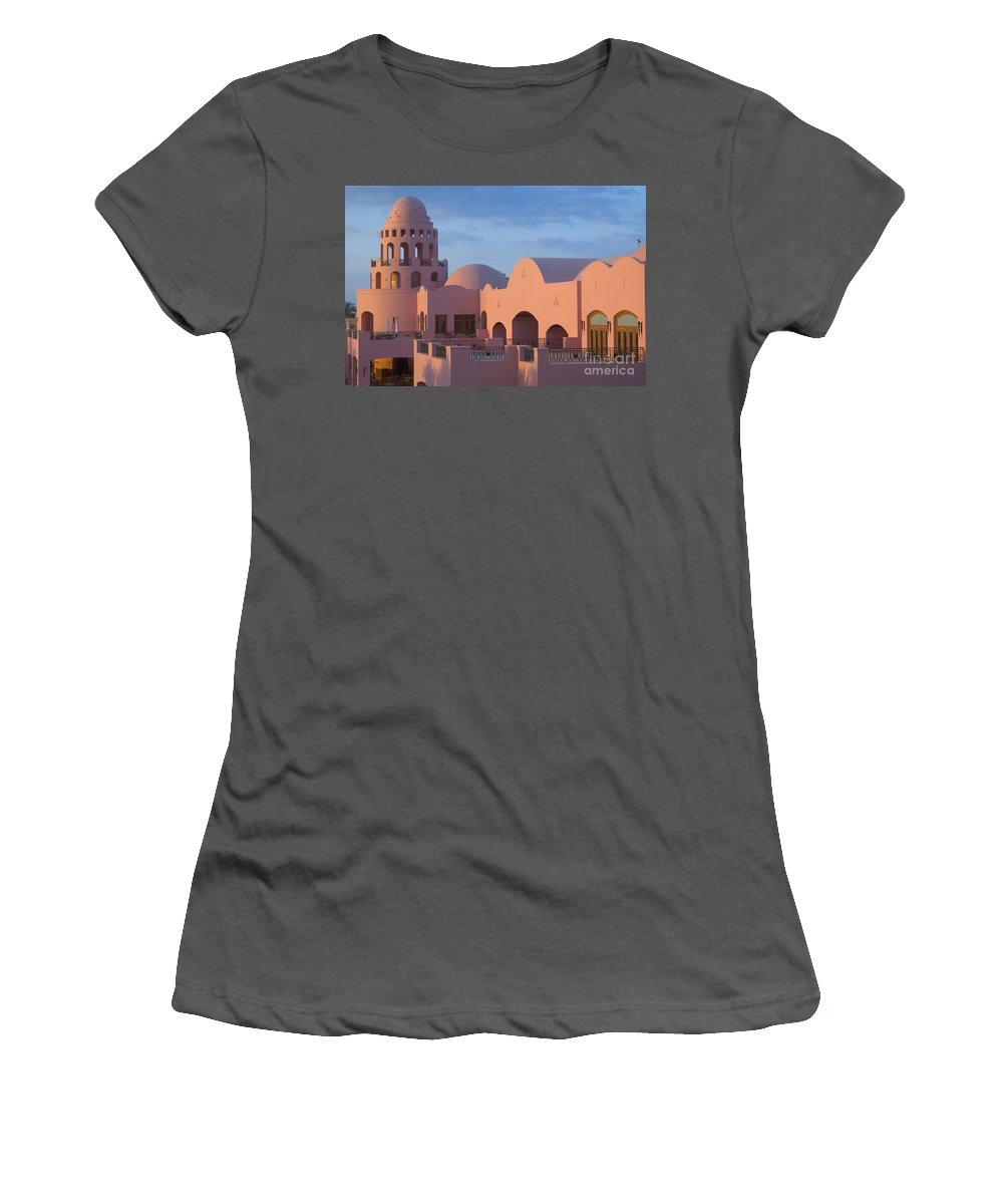 Culture Women's T-Shirt (Athletic Fit) featuring the photograph Fantasy Castle by Ilan Rosen