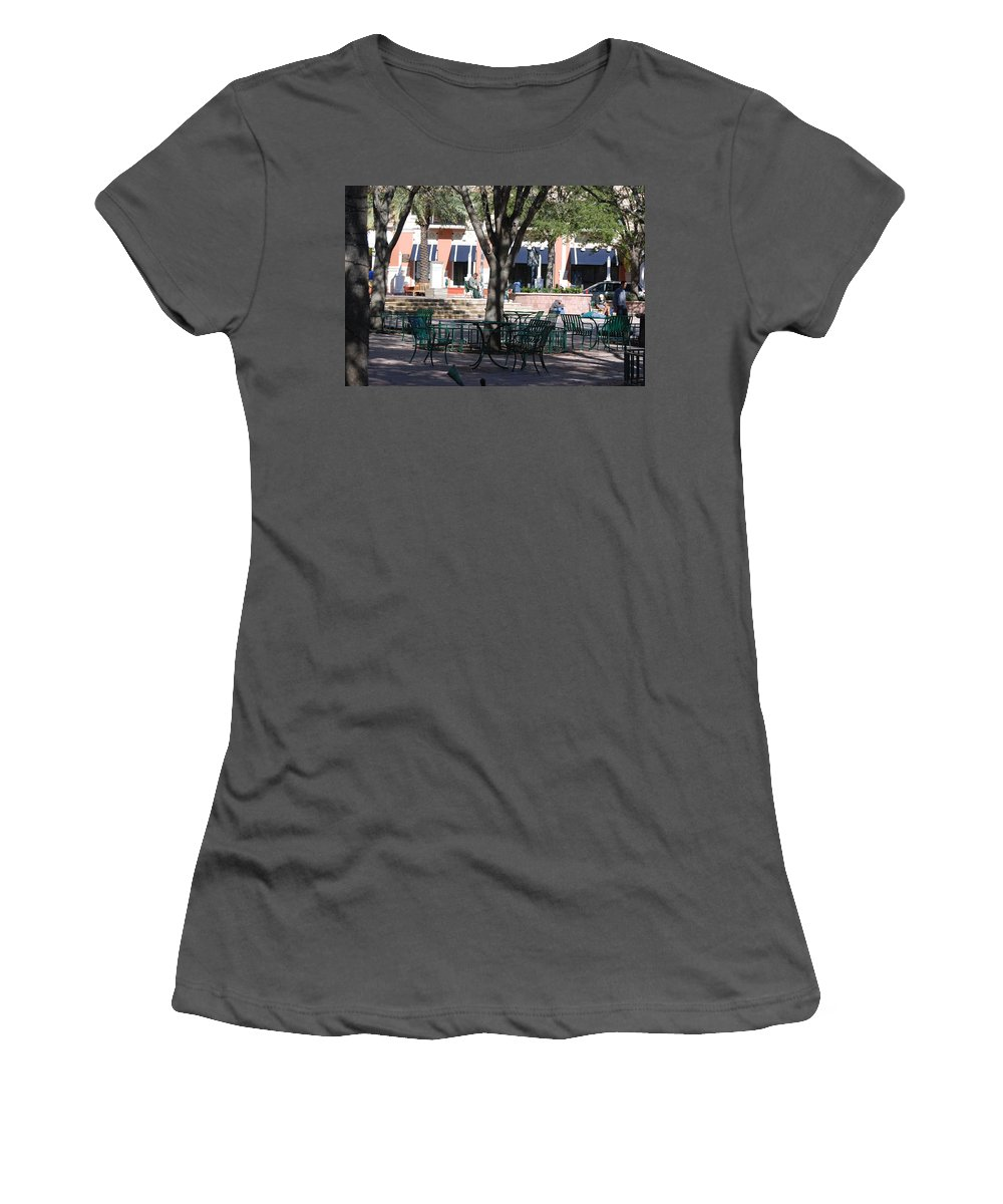 Park Women's T-Shirt (Athletic Fit) featuring the photograph Flagler Park by Rob Hans