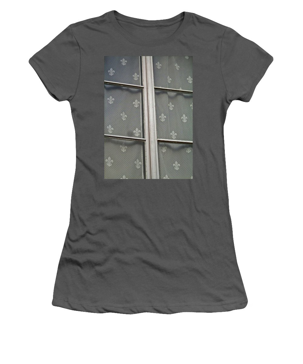 North America Women's T-Shirt (Athletic Fit) featuring the photograph Fleur-de-lis by Juergen Weiss
