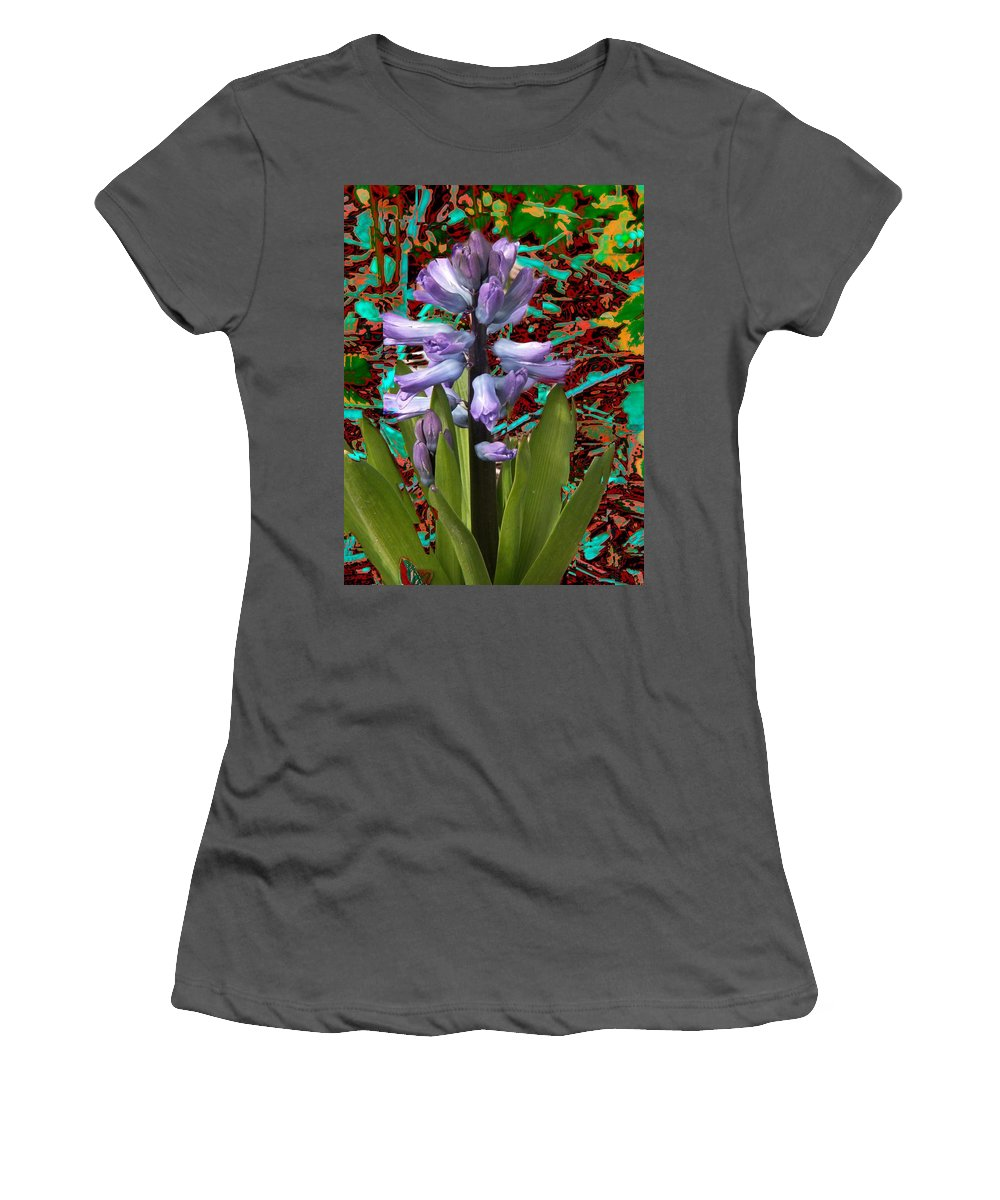 Flowers Women's T-Shirt (Athletic Fit) featuring the photograph Flower 5 by Tim Allen