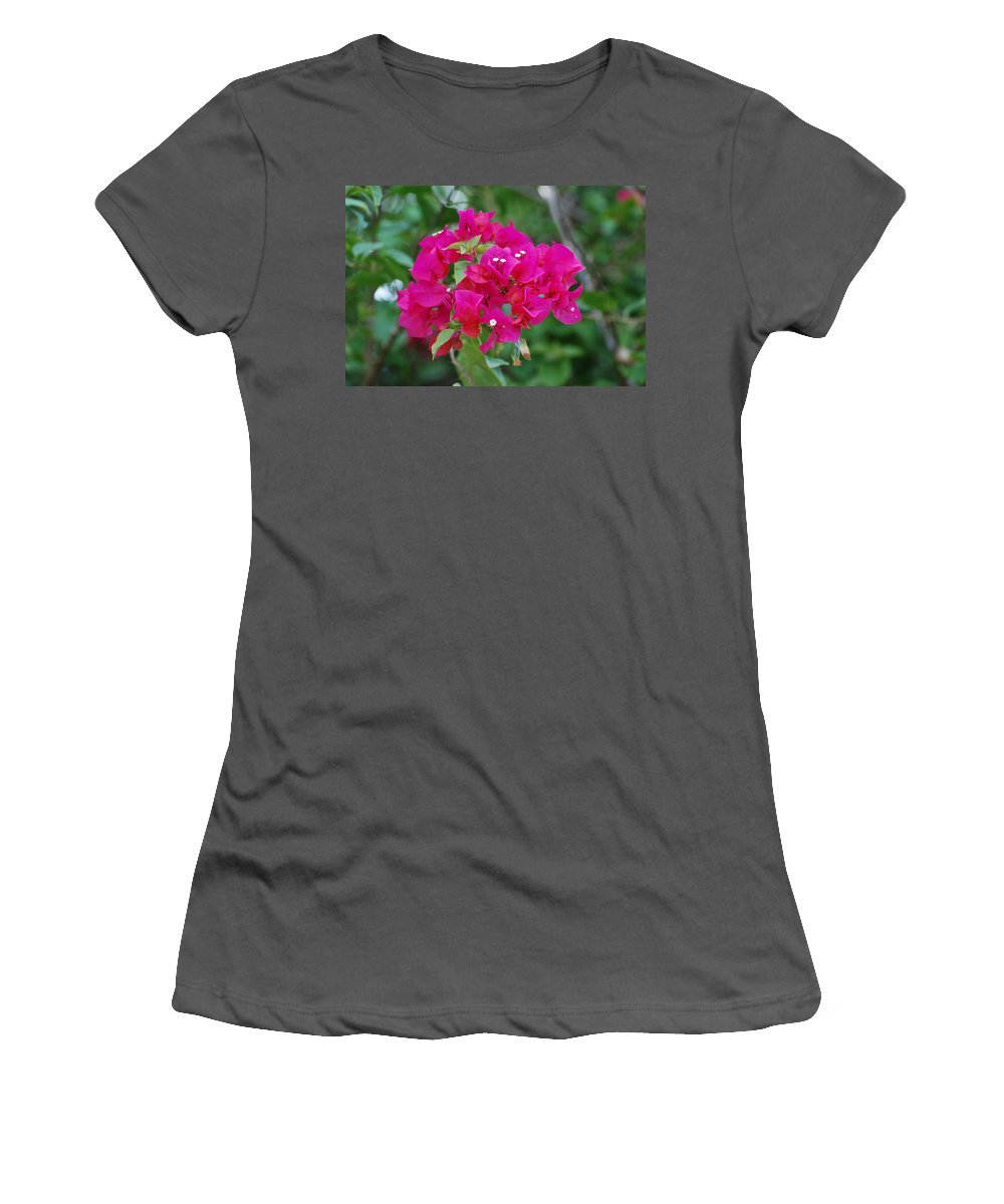 Flowers Women's T-Shirt (Athletic Fit) featuring the photograph Flowers by Rob Hans