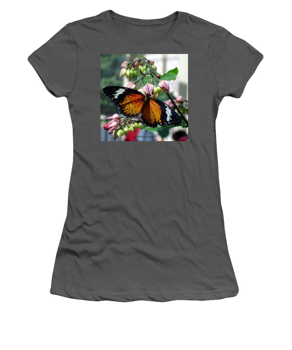 Photography Women's T-Shirt (Athletic Fit) featuring the photograph Friends Come In Small Packages by Shelley Jones