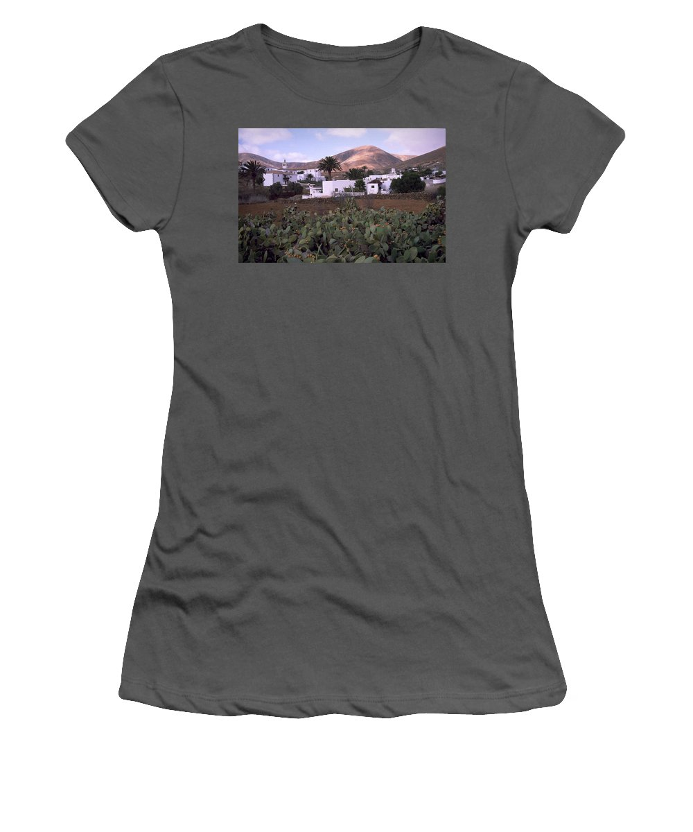 Fuerteventura Women's T-Shirt (Athletic Fit) featuring the photograph Fuerteventura Iv by Flavia Westerwelle